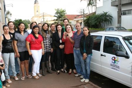 SEDS entrega carro e equipamentos para o Conselho Tutelar de Andirá